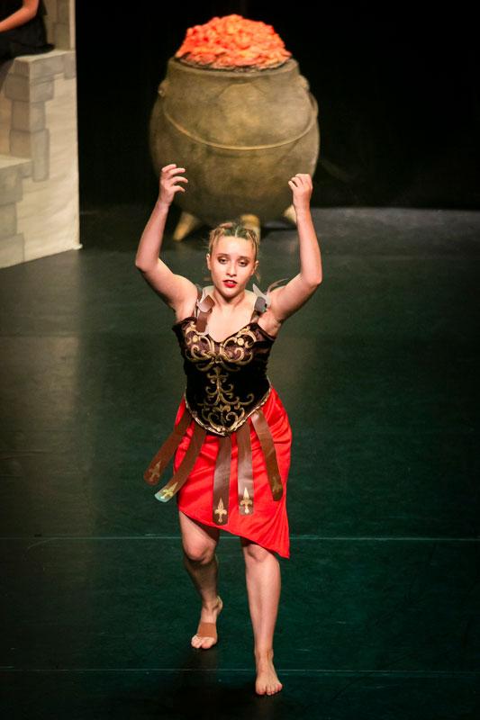 Sauvons nos gaulois spectacle EllZi Danse