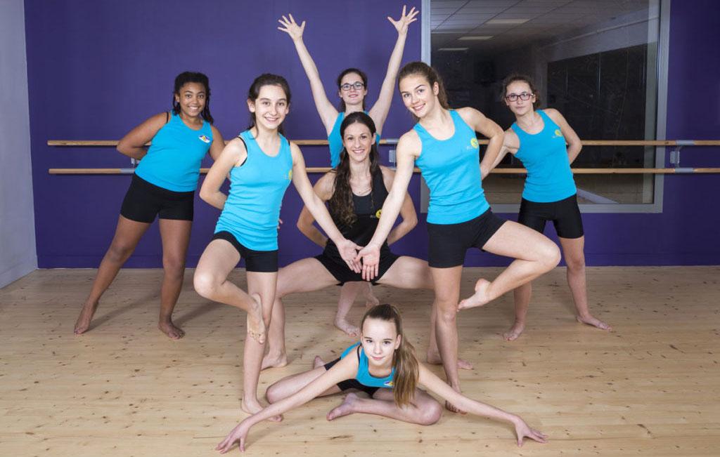 Cours de Modern Jazz Ellzi-Danse Saintes