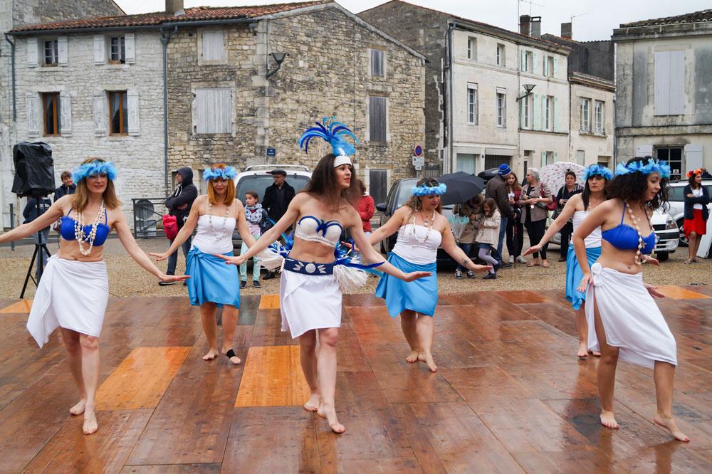 Flash mob Ellzi Danse Saintes 2019