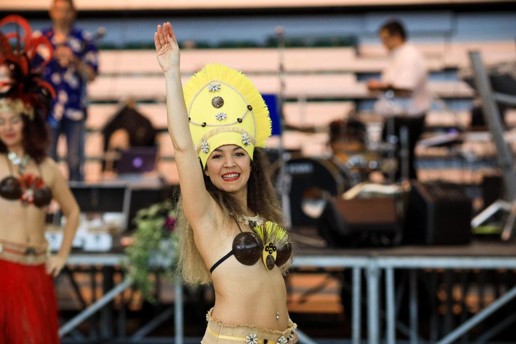 prestation danse tahitienne Saintes