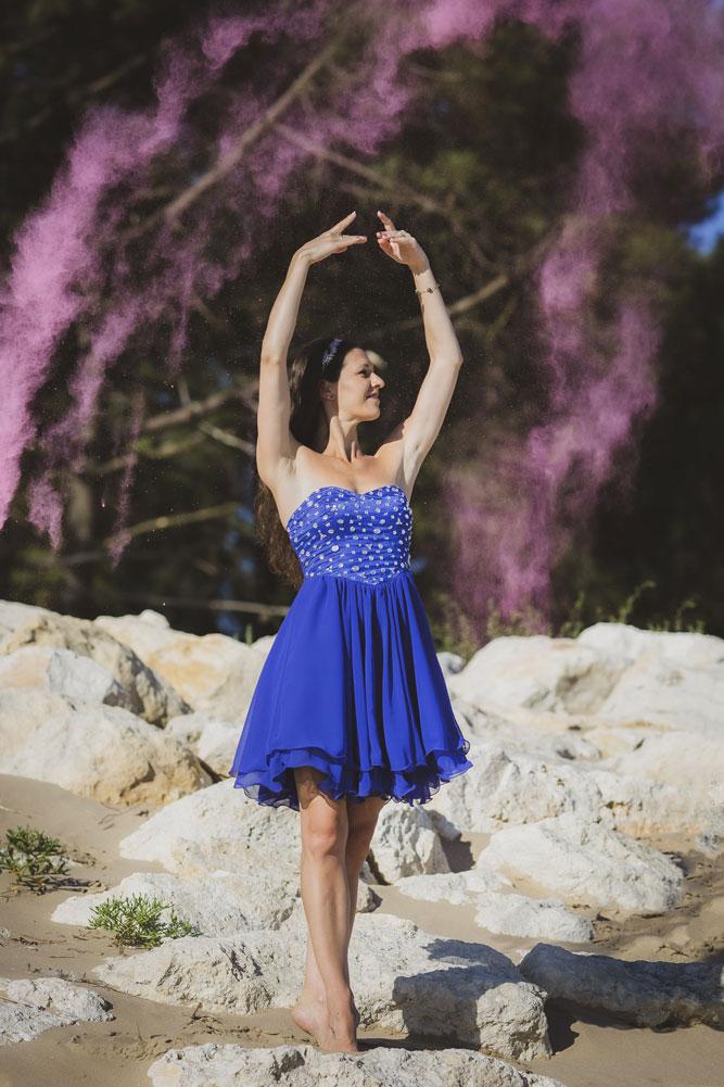 Mélanie Denis, professeur de danse à Saintes