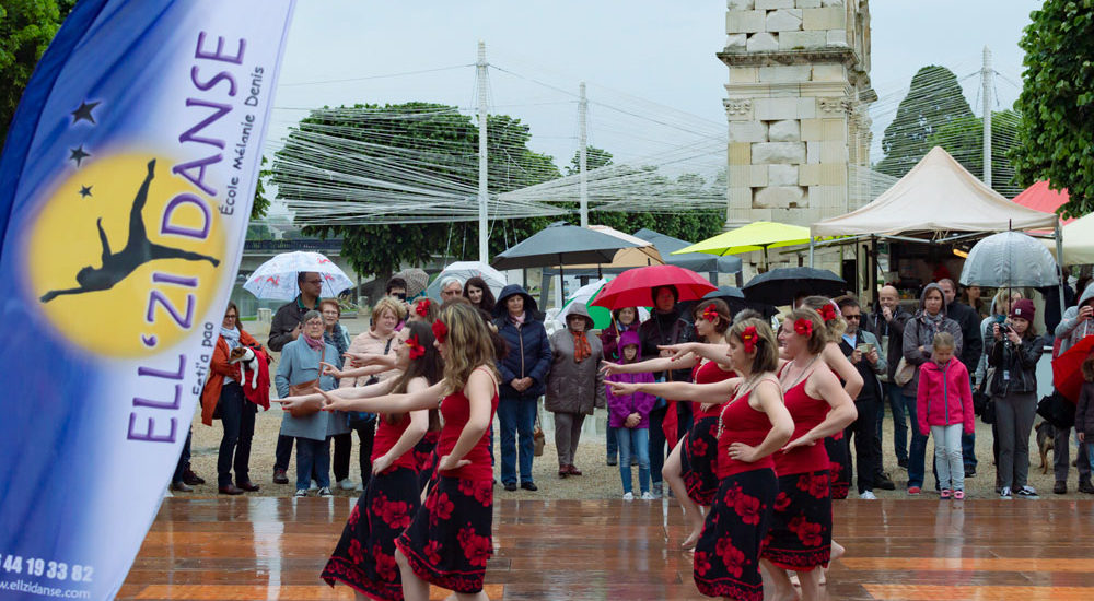 Flash mob Ellzi Danse Saintes 2019