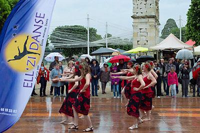 Flashmob EllZi Danse Saintes
